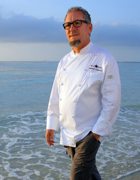 Chef Michael Schwartz for Blue Star Foods.