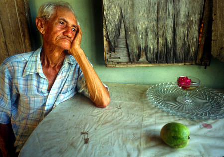 A Cuban farmer.