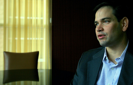 Marco Rubio, Senator from Florida, ex-presidential candidate.