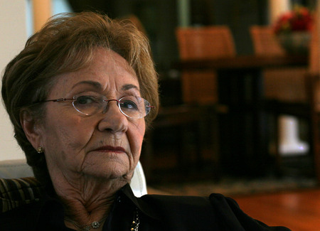 Juanita Castro, sister to Fidel, lives in Miami.