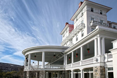The Omni Mount Washington Resort, at Bretton Woods, NH. 
