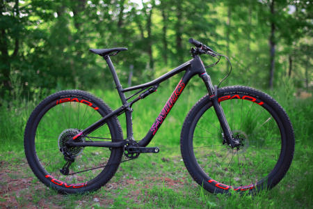 The 2018 Epic, from Specialized Bicycle Components.