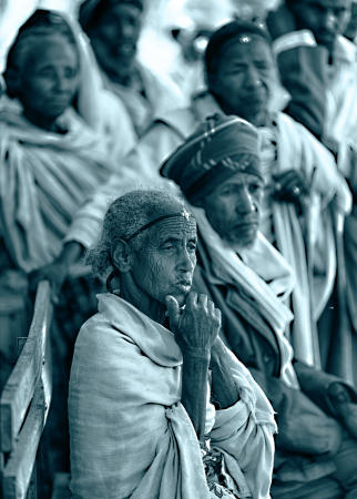 Peasants near the ancient city of Aksum, Ethiopia.
